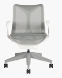 Cosm Task Chair Low Back Fixed Arm