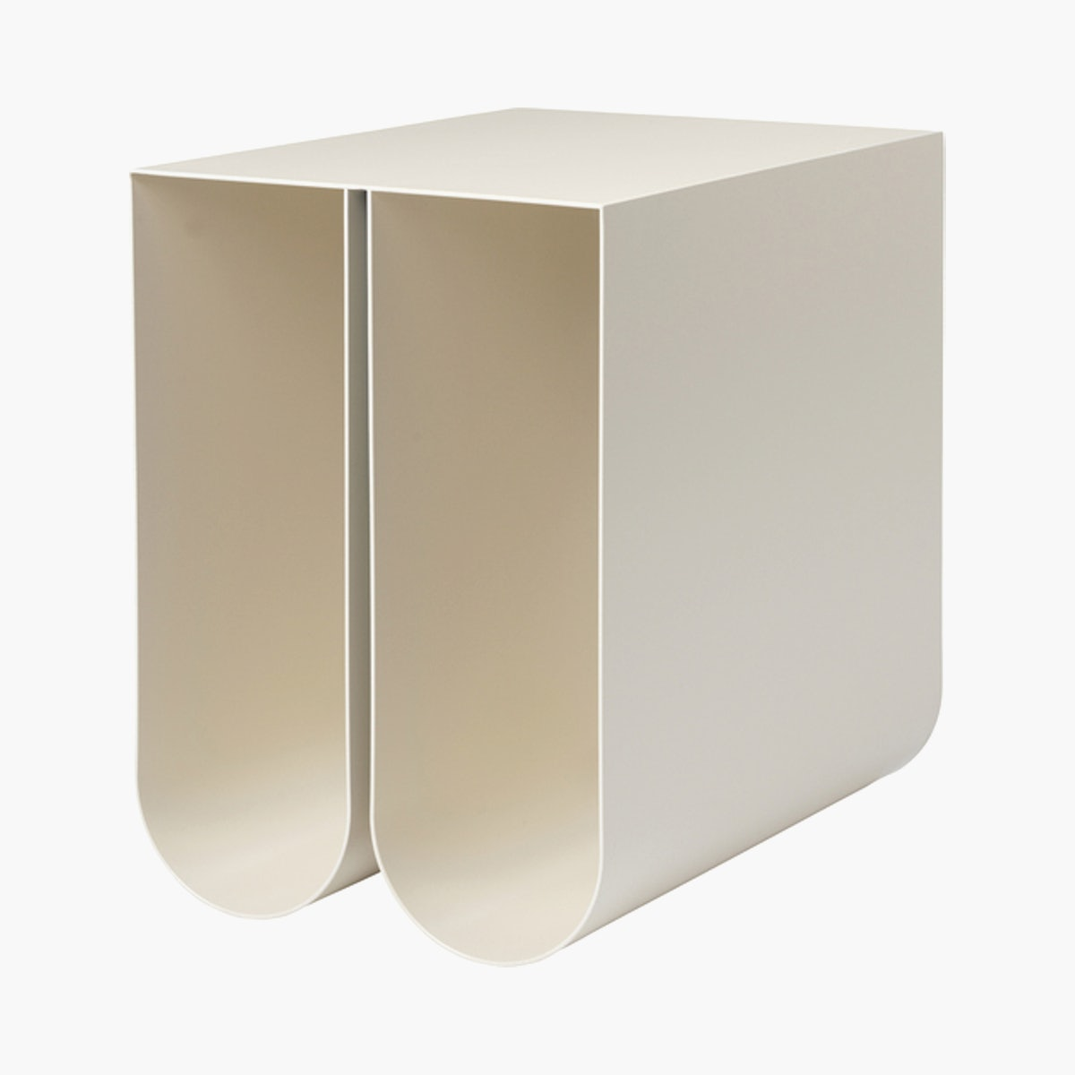 Curved Side Table