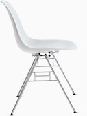 Eames Molded Plastic Stacking Side Chair (DSS)
