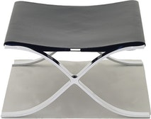Barcelona Stool with Cowhide Sling