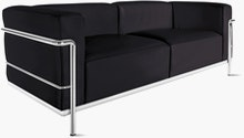 LC2 Petit Modele Two-Seater Sofa