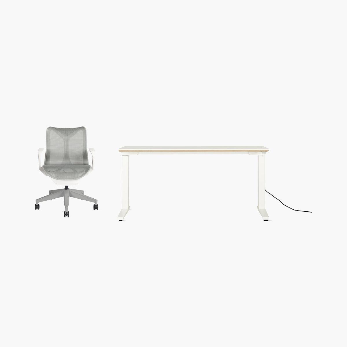 Cosm Chair / Renew Desk Office Bundle