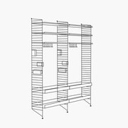 "Chef/Stemware/Sommelier - 2 Bays - 32"" Wide Shelves"