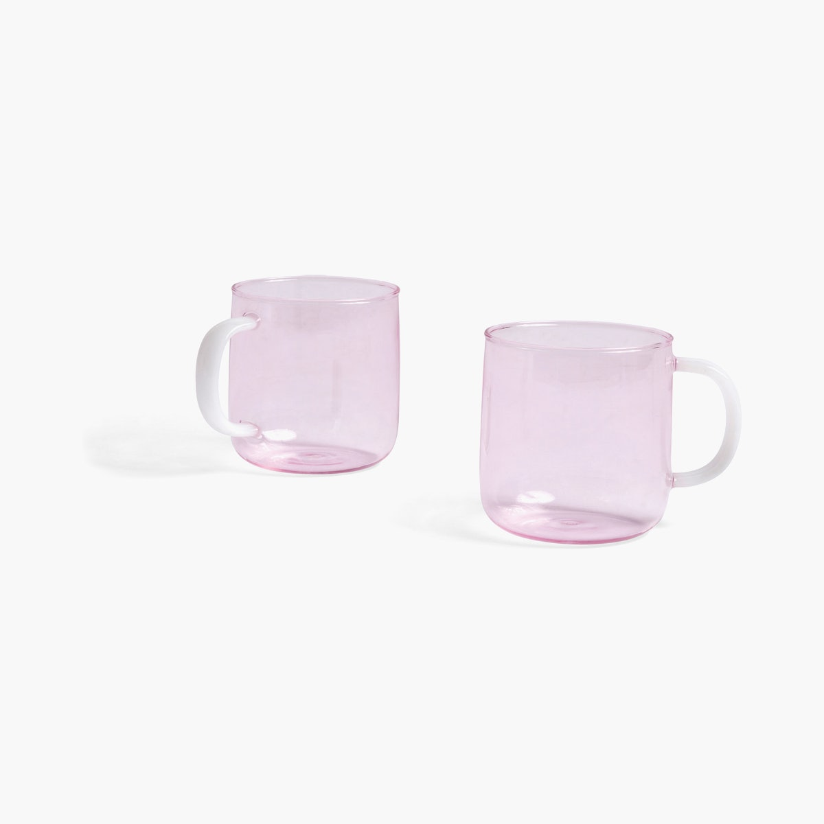 Borosilicate Mug - Set of 2