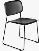 Soft Edge Sled Chair, Plastic