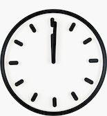 Tempo Clock,  Black