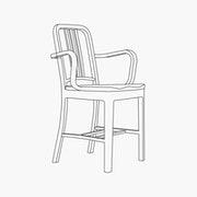 Armchair - With Wood Seat