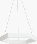 Geometric Hex LED Pendant