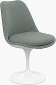 Saarinen Tulip Side Chair, Fully Upholstered