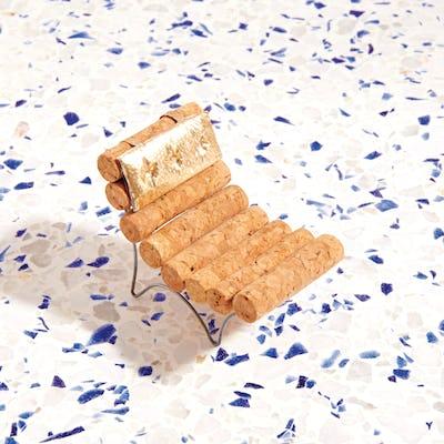 DWR Champagne Chair