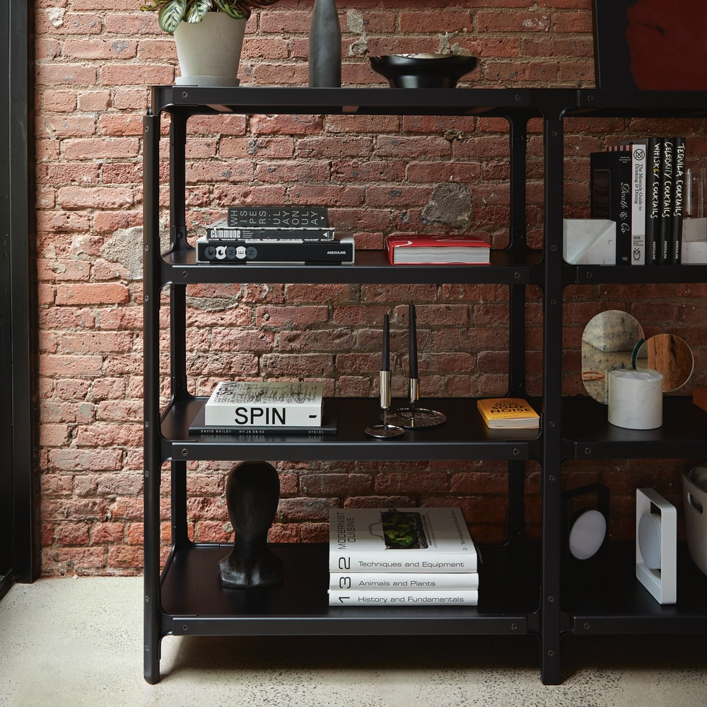 Steelwood Shelving System 4x2