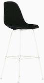 Eames Upholstered Molded Plastic Barstool - DSHBX.U