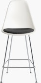 Eames Shell Stool with Seatpad (DWR)