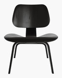 Eames Molded Plywood Lounge Chair Upholstered (LCW.U)