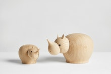 Rina Rhino Figurine