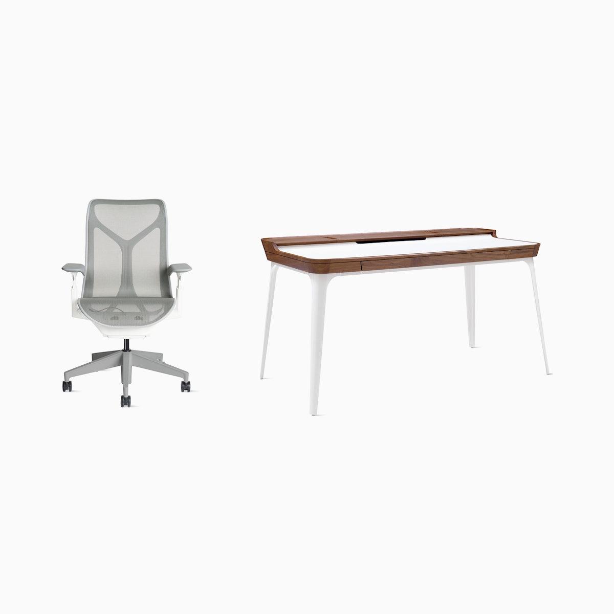 Cosm Chair / Airia Desk Office Bundle