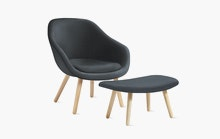 About A Lounge 82 Chair and Ottoman
