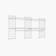 "High - 2 Bays - 24"" Wide Shelves"