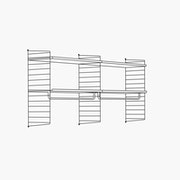 "High - 2 Bays - 24"" Wide Shelves"