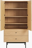Loop Armoire with Shelves