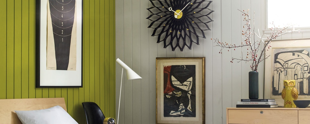 Nelson Sunflower Clock