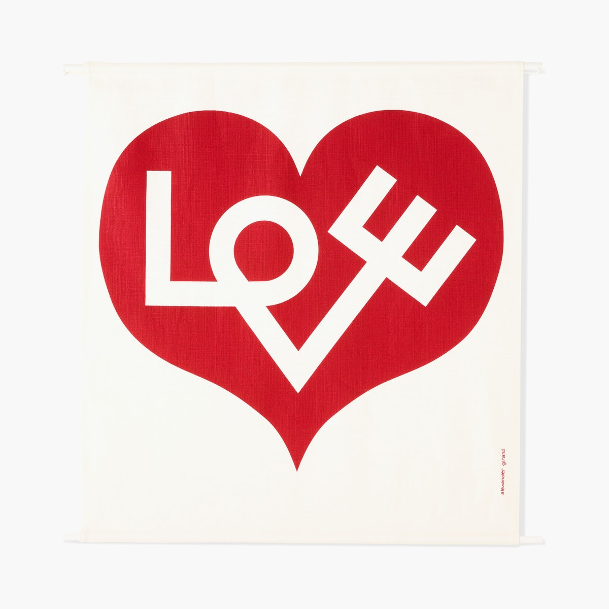 """Love Heart"" by Alexander Girard"