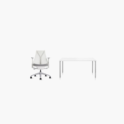 Sayl Chair / Everywhere Table Office Bundle