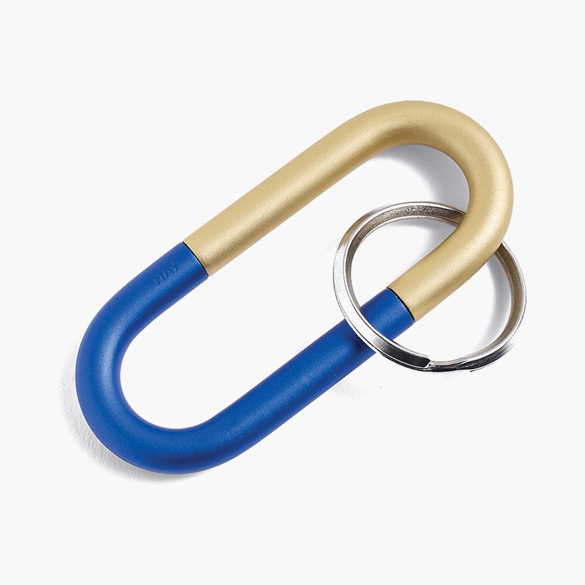 Cane Key Ring, Blue
