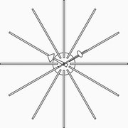 Nelson Star Clock