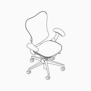 Mirra 2 Chair Butterfly Suspension Back