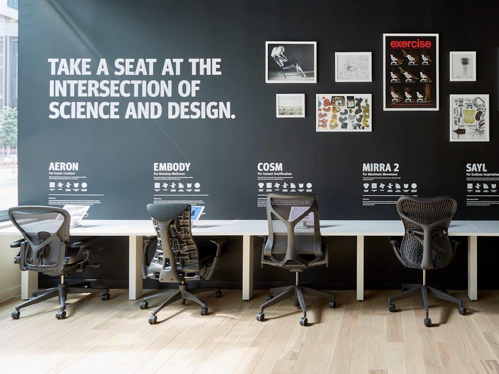 HM Boston Task Chair settings