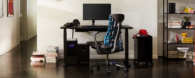 Embody Gaming Chair + gaming setup