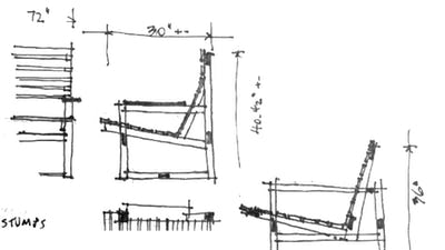 Jen Risom Block Island sketch