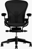 Aeron Gaming Chair, Transparent Background