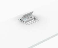 Logic Grommet Mounted Power Outlet