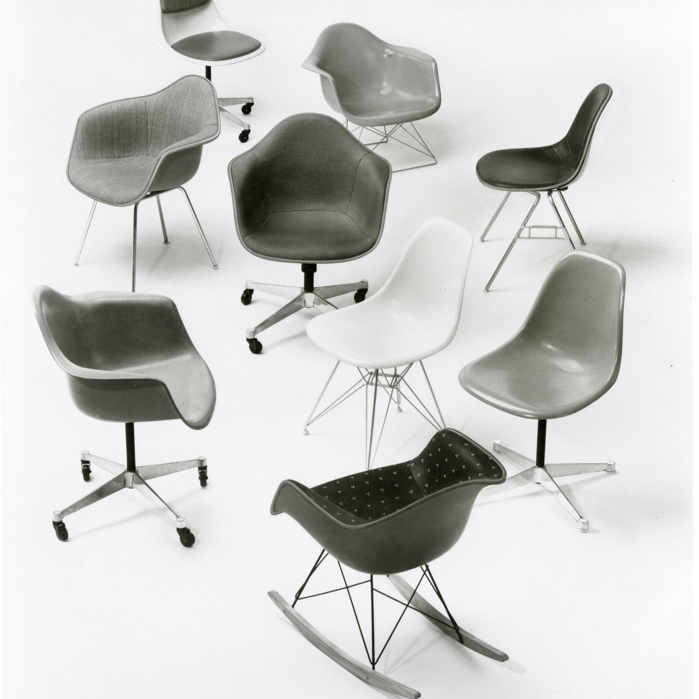 Eames Fiberglass Shell Chair