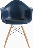 Eames Molded Fiberglass Armchair with Seat Pad (DWR)