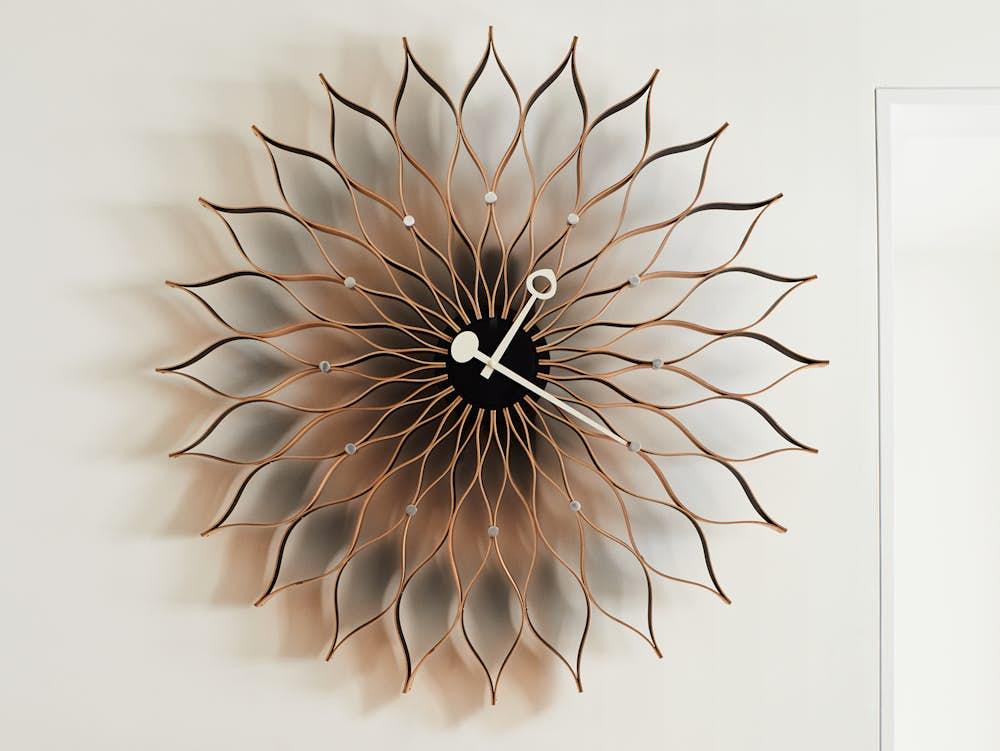 Nelson Sunflower Clock