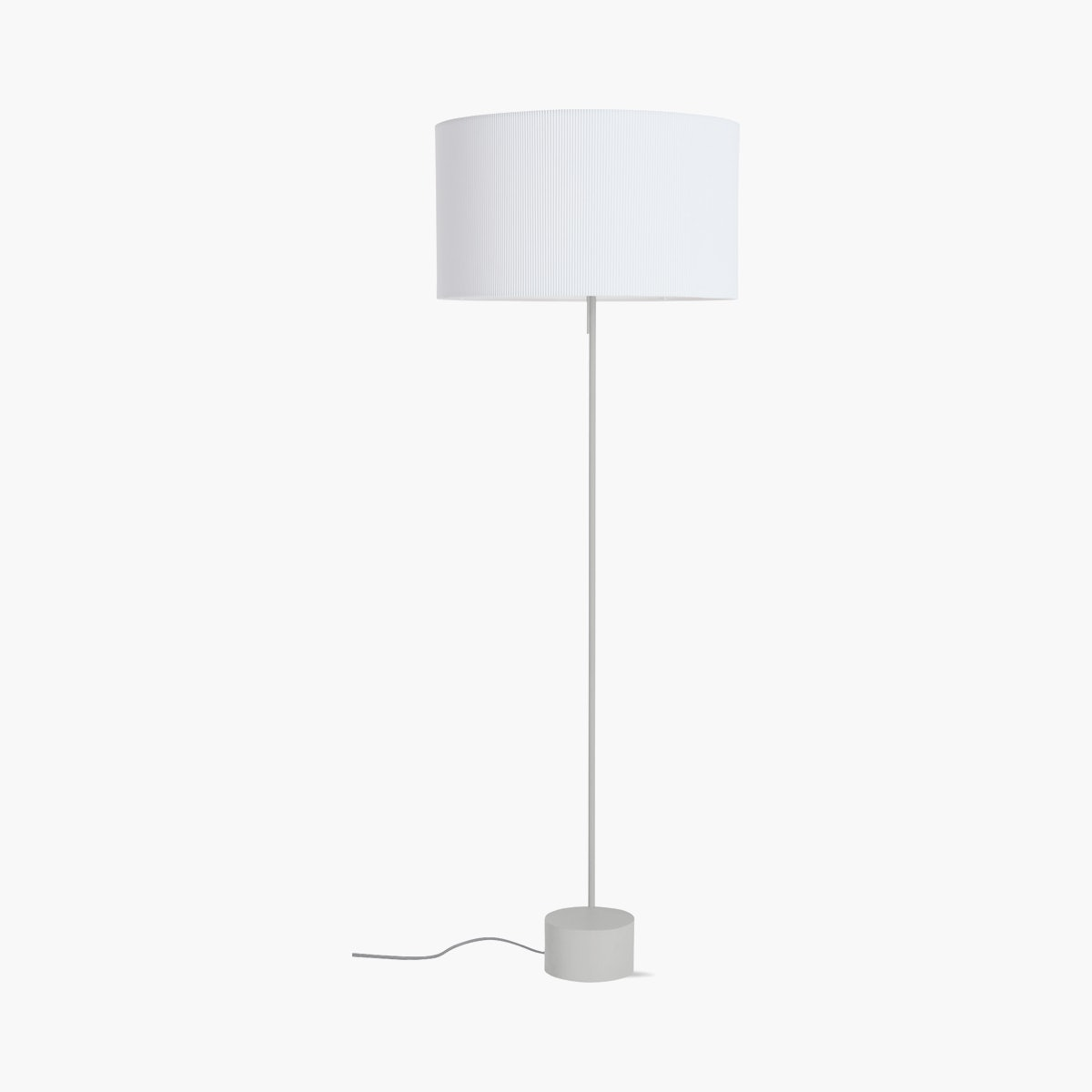 Pleat Drum Floor Lamp