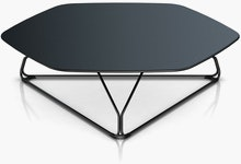 Polygon Large Wire Table