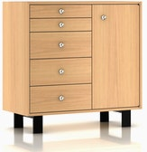 Nelson Basic Cabinet Series (BCS) - 34x40 5 Drawer Cabinet