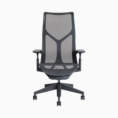 Cosm Task Chair High Back Adjustable Arm
