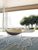Bertoia Asymmetric Chaise