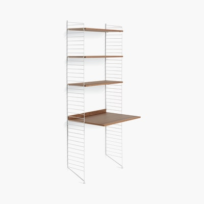 String Work Desk Shelving
