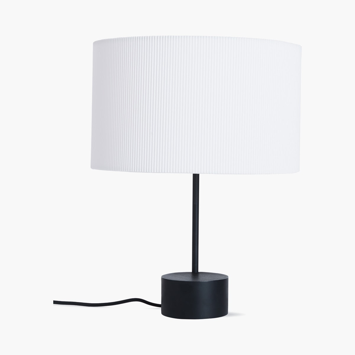 Pleat Drum Table Lamp