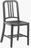 1006 Navy Wood Chair