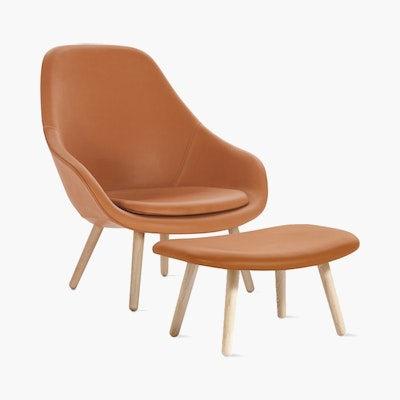 About A Lounge 92 Chair and Ottoman
