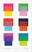 Liz Roache Six Color Interactions Poster