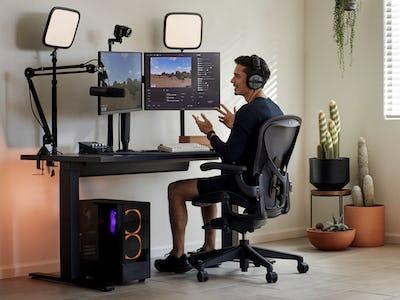 Aeron Gaming Chair at Xaryu's