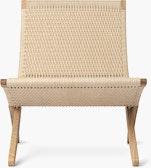 MG501 Cuba Lounge Chair, Paper Cord